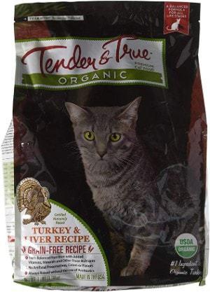 Tender & True Organic Cat Food
