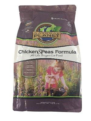Natural Planet Organics All Life Stages Dry Cat Food