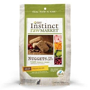 Instinct Freeze Dried Raw Market Nuggets