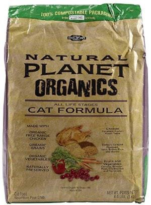 Natural Planet Organics Chicken Formula All Life Stages Dry Cat Food