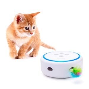 PETBIA Interactive Cat Toy with Rotating Feather