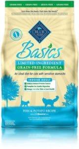 Blue Buffalo Basics Limited Ingredient Dry Cat Food-min