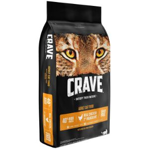CRAVE Grain Free High Protein Dry Cat Food-min