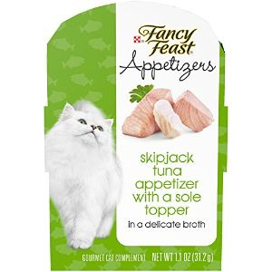 Purina Fancy Feast Appetizers Wet Cat Food Complement-min