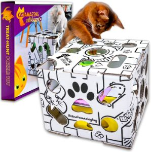 All for Paws Cat Interactive Treat Puzzle Toy
