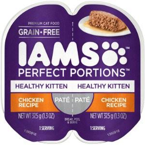 IAMS Perfect Portions Grain Free Wet Cat Food Pate
