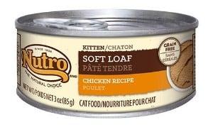 Nutro Kitten Wet Cat Food Soft Loaf Chicken