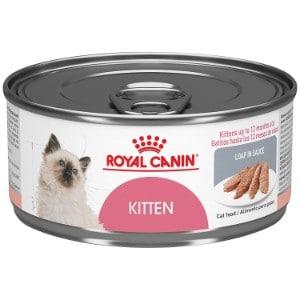 Royal Canin Feline Health Nutrition Kitten Instinctive Loaf in Sauce