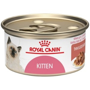 Royal Canin Feline Health Nutrition Kitten Thin Slices In Gravy