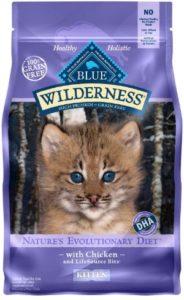 Blue Buffalo Blue Wilderness Kitten Chicken Recipe Dry Cat Food