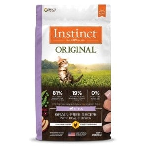 Instinct Original Kitten Grain Free Recipe Natural Cat Food by Nature