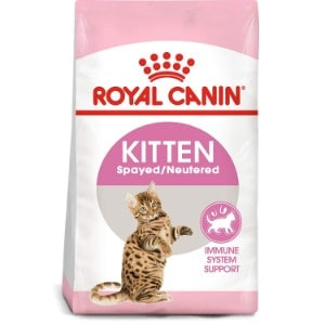 Royal Canin Feline Health Nutrition Spayed/Neutered Dry Cat Food For Kittens