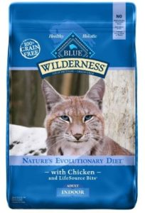 blue buffalo wilderness high protein grain free natural adult indoor dry cat food