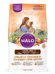 Halo grain free natural dry cat food