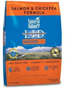 Natural Balance Limited Ingredient Diets Dry Cat Food for Indoor Cats