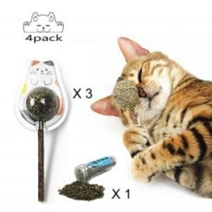 Organic Cat Mint Ball Stick