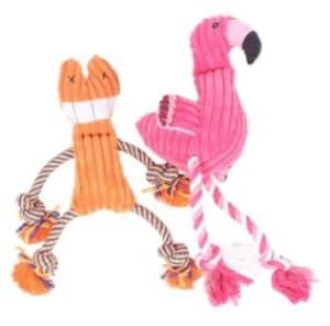 Pet Knots Squeak Plush Cat Toy