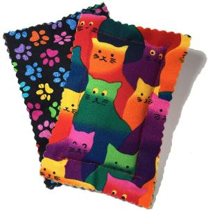 Johnson Pet Products Catnip Pillow Sacks Crazy Cat