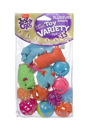 HARTZ Just For Cats Toy Variety Pack