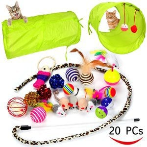 Youngever 20 Cat Toys Kitten Toys Assortments
