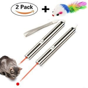 TOPOPETOY LED Flashlight and Red Light Pointer