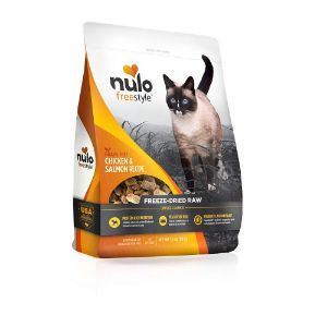 Nulo Freestyle Freeze Dried Raw Cat Food – Chicken & Salmon