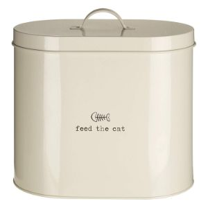 Premier Housewares Adore Pets Feed The Cat Food Storage Bin