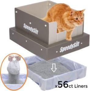 SpeedySift Cat Litter Box