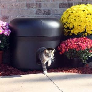 Kitty Tube The Outdoor Insulated Cat House