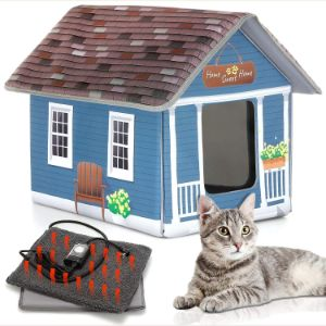 PETYELLA Cat Houses for Outdoor Cats