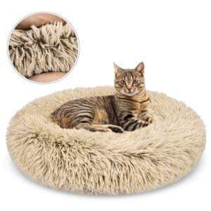 GASUR Self Warming Winter Indoor Snooze Cat Bed