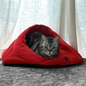 Naconic Electric Heated Cat Bed Cave