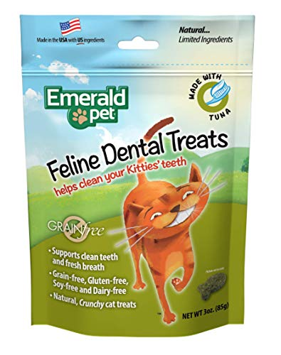 Emerald Pet Feline Dental Tuna Treats