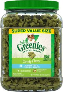 Feline Greenies Catnip Dental Treats
