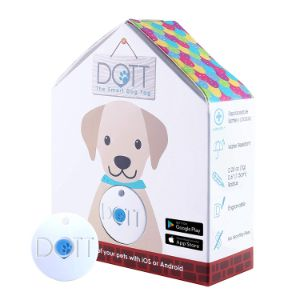 DOTT The Smart Dog Tag – Bluetooth Tracker for Dogs and Cats