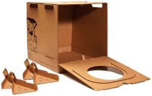 Kitty Kan Traveler Enclosed Disposable Litter Box-min