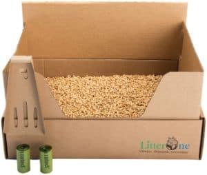 Litter One Biodegradable Cat Litter Kit-min