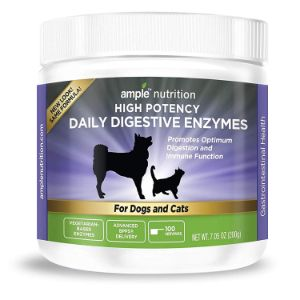 Ample Nutrition Digestive Enzyme for Dogs & Cats