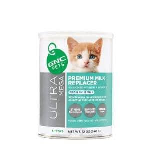 GNC Pets Ultra Mega Premium Milk Replacer Powder Formula for Kittens
