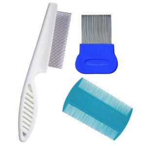 ZYoung 3 Pcs Dog Comb Cat Grooming Comb