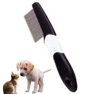 PetEnjoy Pet Grooming Tools Flea Comb