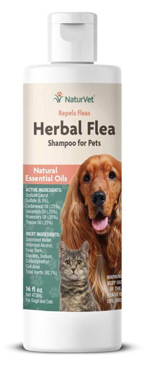 NaturVet – Herbal Flea Plus Essential Oils to Repel Fleas