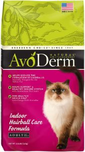 AvoDerm Natural Indoor Hairball and Weight Control Formula
