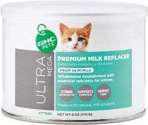 GNC Pets Ultra Mega Premium Milk Replacer for Kittens