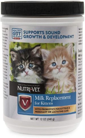 Nutri-Vet Milk Replacement for Kittens with Probiotics