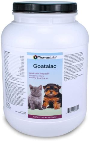 Thomas Laboratories Goat-A-Lac Supplement Powder for Pets