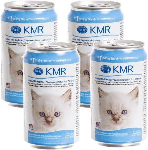 4-Pack KMR Liquid Milk Replacer for Kittens and Cats