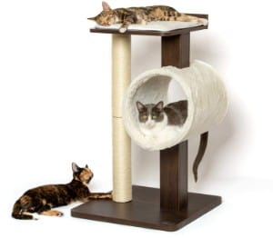PetFusion Modern Cat Tree House and Scratching Post