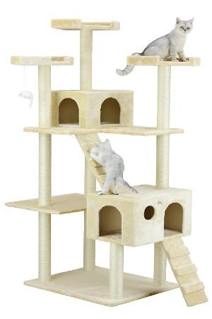 Go Pet Club Cat 72 in. High Cat Tree