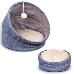 Frankshine Pet Bed for Cats or Small Dogs Multifunction Cat Bed